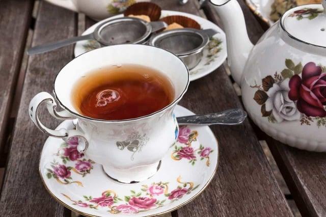Ouvir un salon de thé