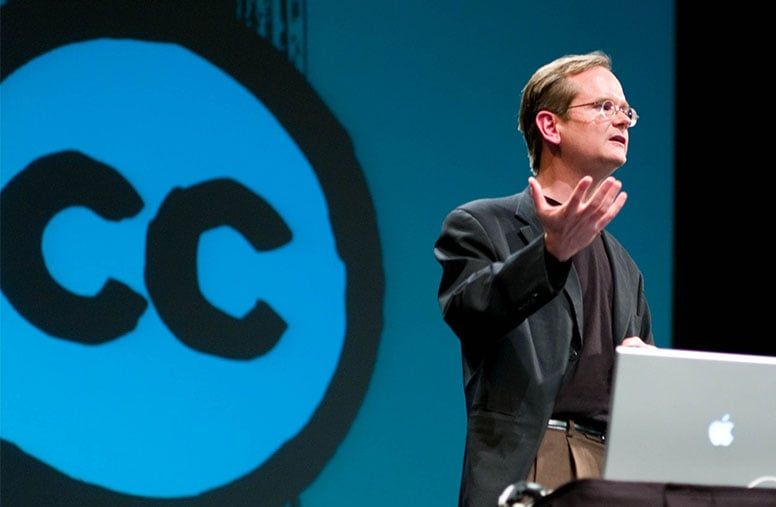 Lawrence Lessig, l'un des fondateurs de Creative Commons