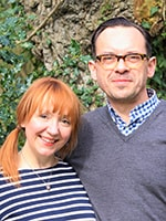 Helen Cockin and Yannic Grangier