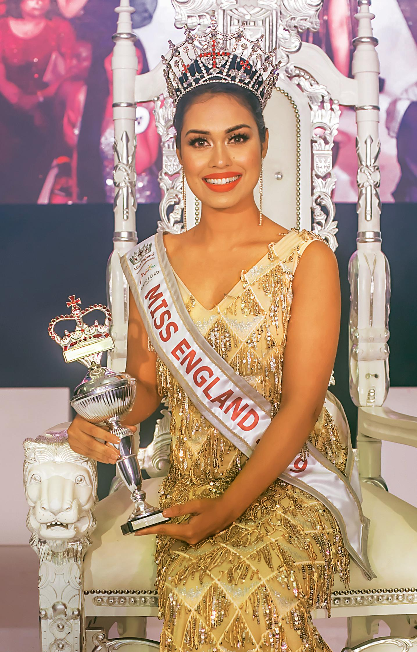 Hello! : Miss England Bhasha Mukherjee reveals the two sides of ...