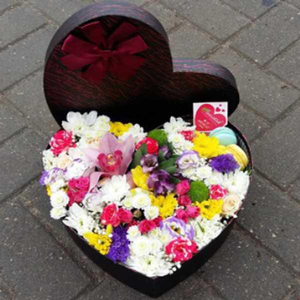 Коробочка сердце 29 см