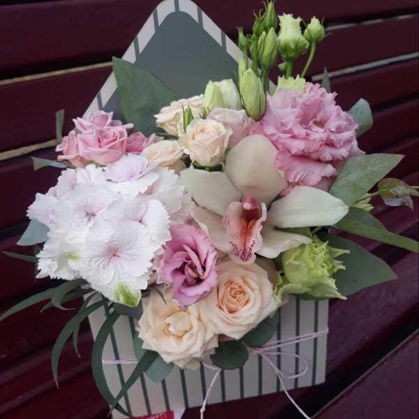 Конвертик с цветами