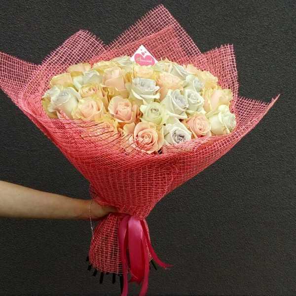 Букет из 35 импортных роз