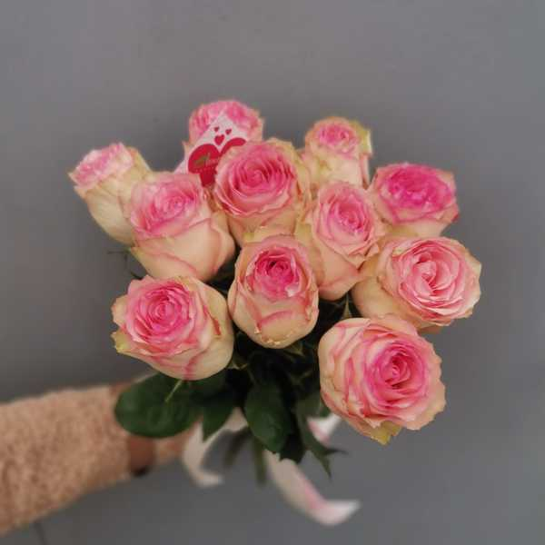Букетик из 11 роз Эсперанса (Esperanza)