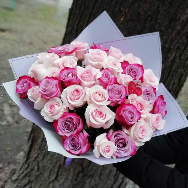 Букет из 37 импортных роз