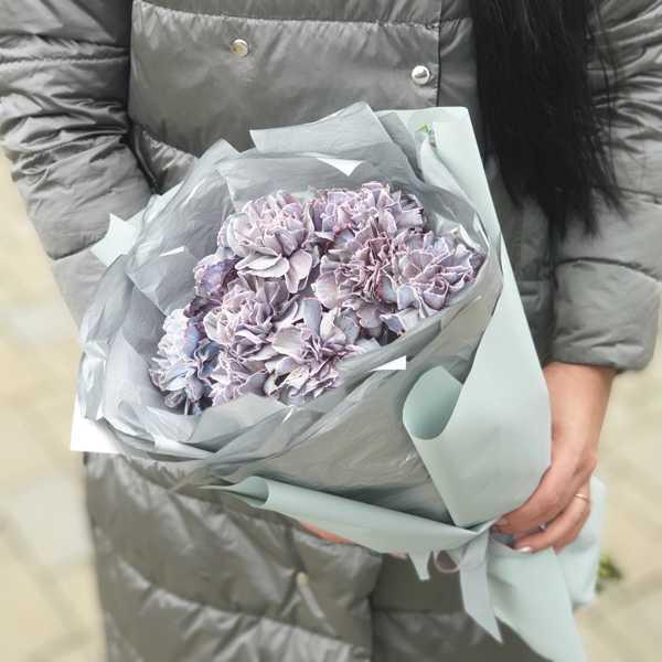 Монобукет из гвоздики Violetta