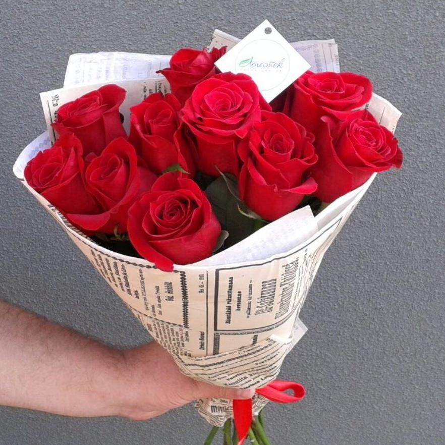 11 роз Fredoom в крафте