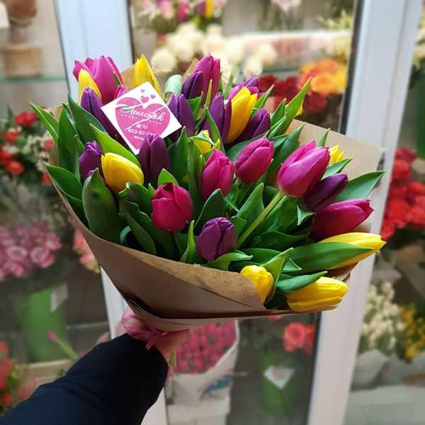 31 тюльпан. Ассорти