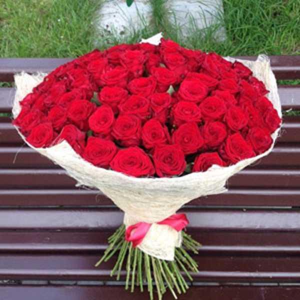 101 красная роза в сезали