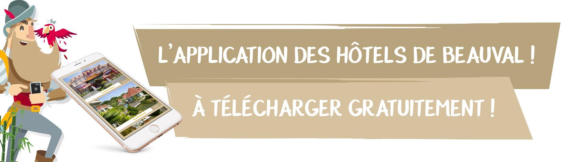 Une application mobile dédiée aux Hôtels de Beauval !