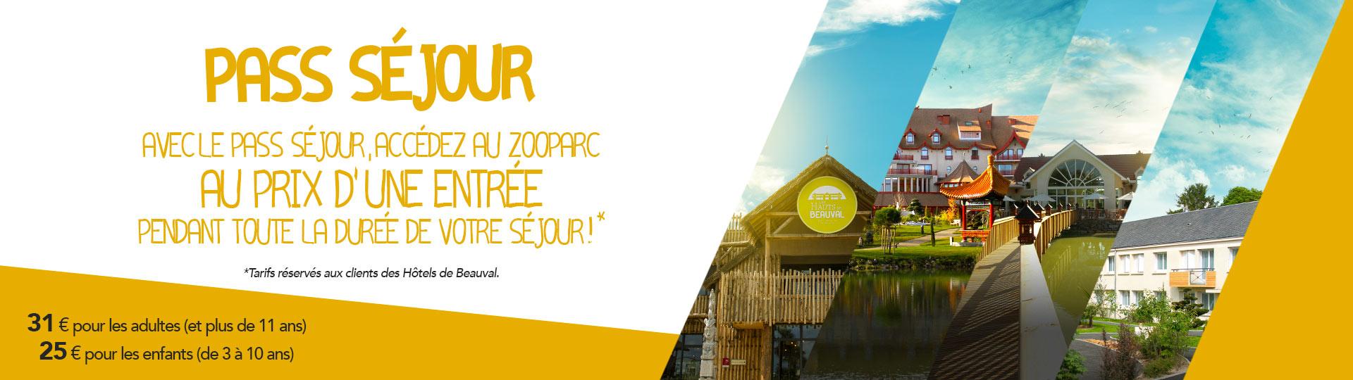 Accès au ZooParc : Le PASS SEJOUR