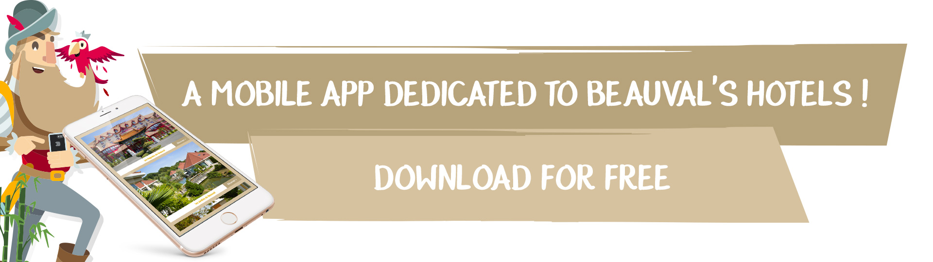 A mobile application dedicated to Beauval's Hotels!