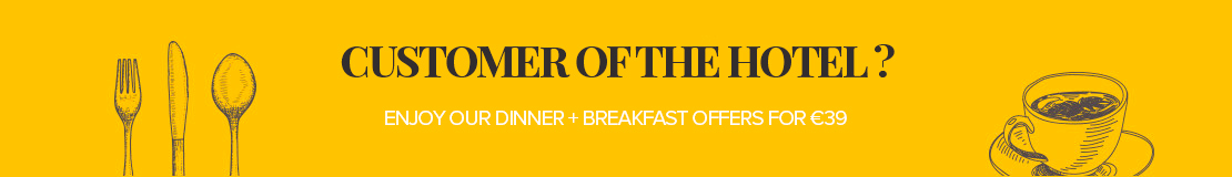 Special offer: dinner + breakfast
