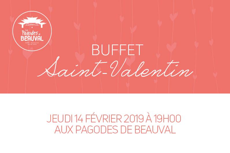 Cocktails et buffet de Saint-Valentin aux Pagodes de Beauval