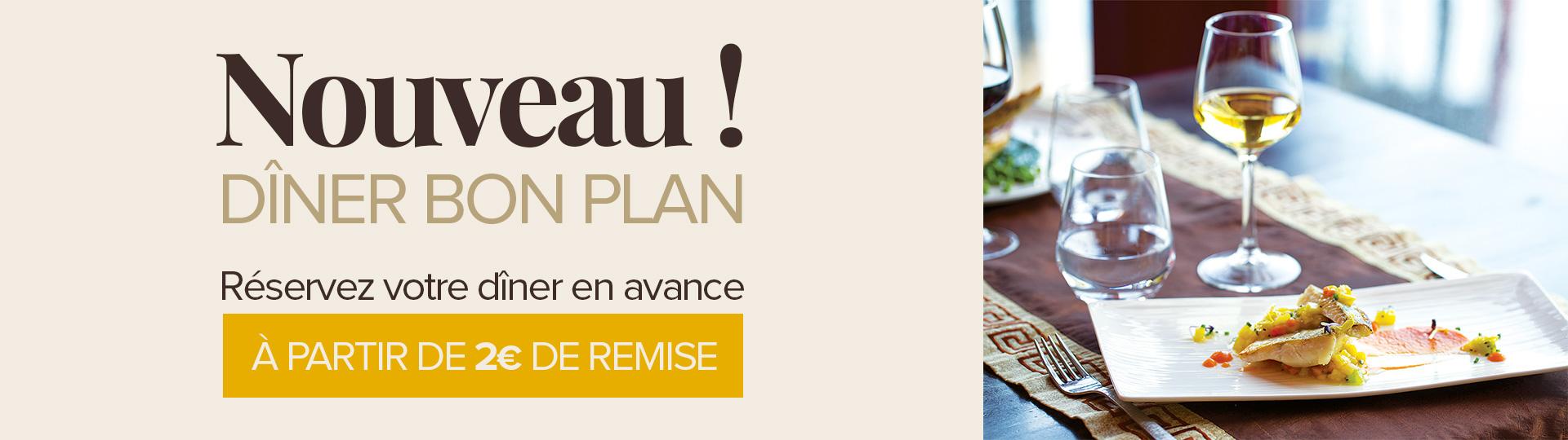 Découvrez nos dîners bons plans aux restaurants des Hôtels de Beauval