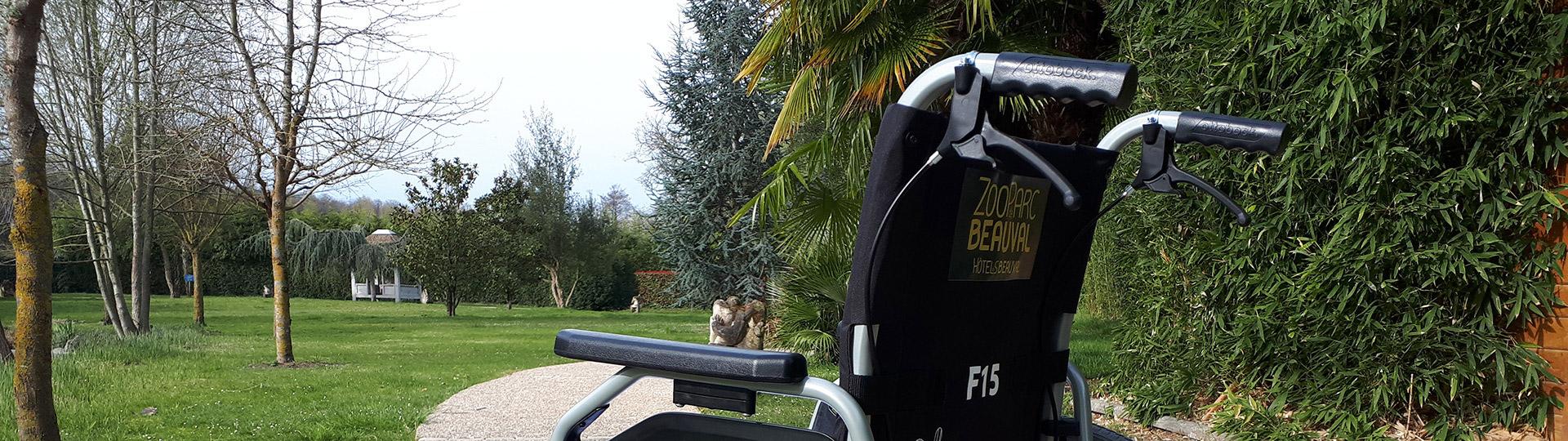 Location de fauteuils roulants aux Hôtels de Beauval