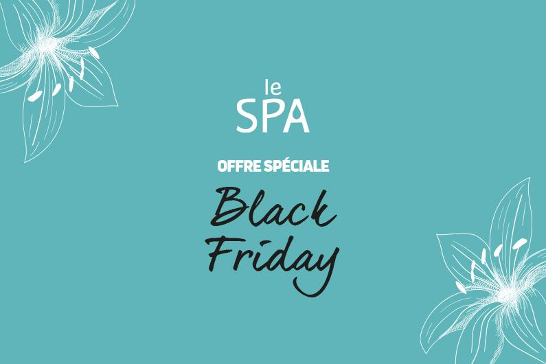 Black Friday au Spa des Jardins : -30% sur vos bons cadeaux