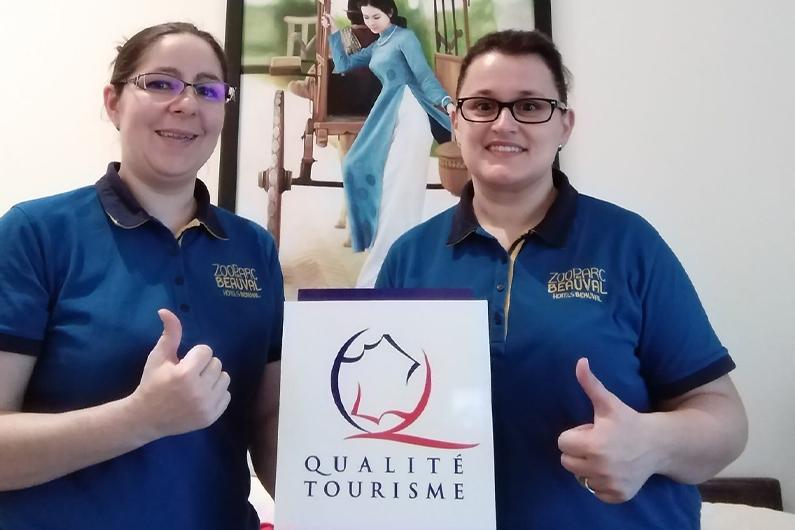 Les Hameaux de Beauval obtiennent à leur tour le Label Qualité Tourisme