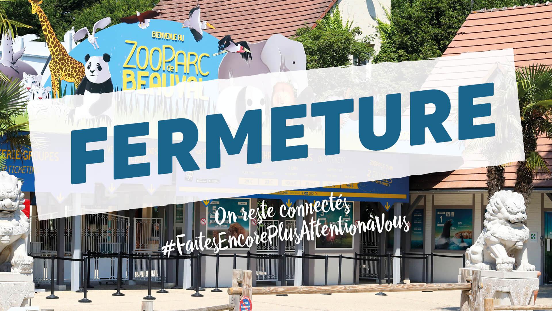 Fermeture du ZooParc de Beauval et de ses hôtels