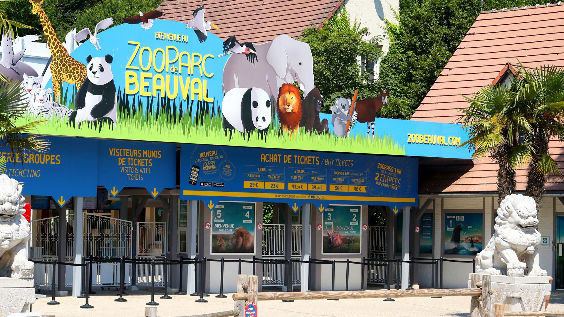 Ouverture du ZooParc de Beauval et de ses Hôtels