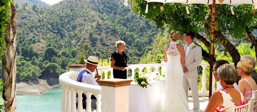 Luxury villas - and a very happy wedding in the Marbella sunshine