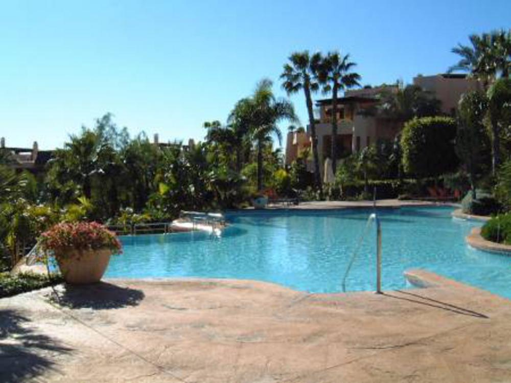 Mansion club apartment in golden mile marbella spain