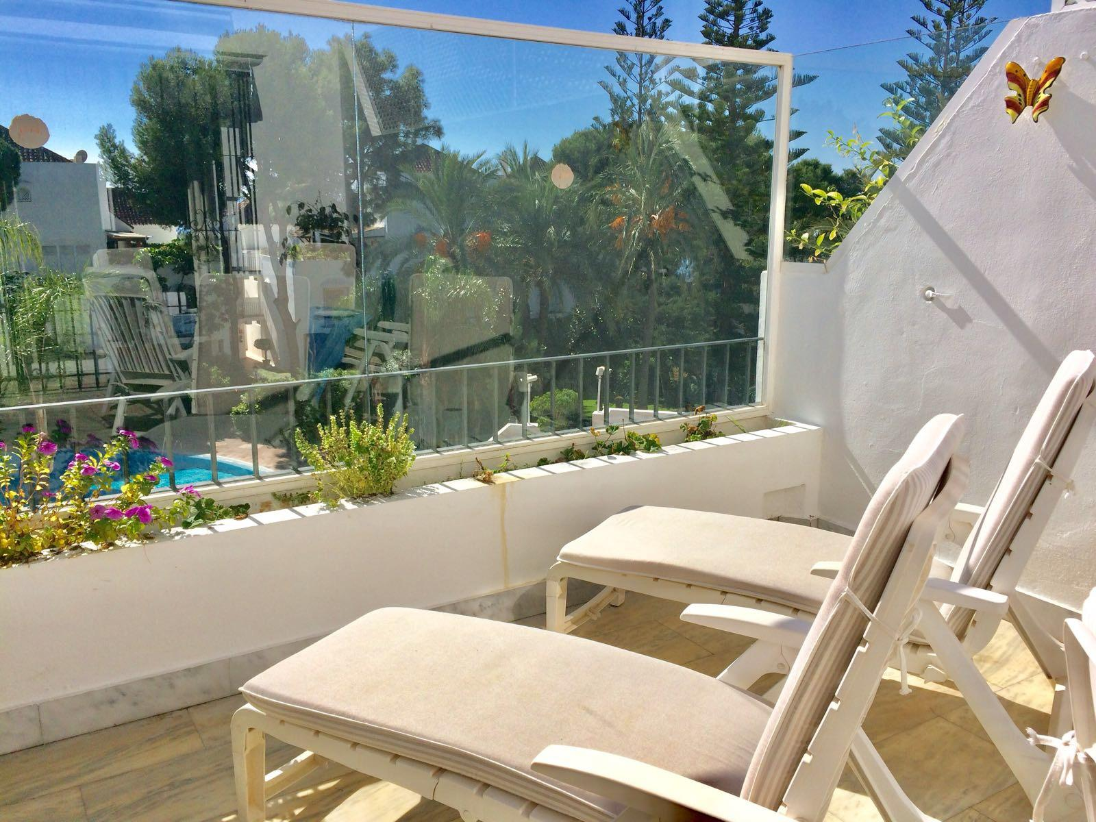 White Pearl Beach, Apartment available for Holiday Rental in Elviria, Marbella, Spain