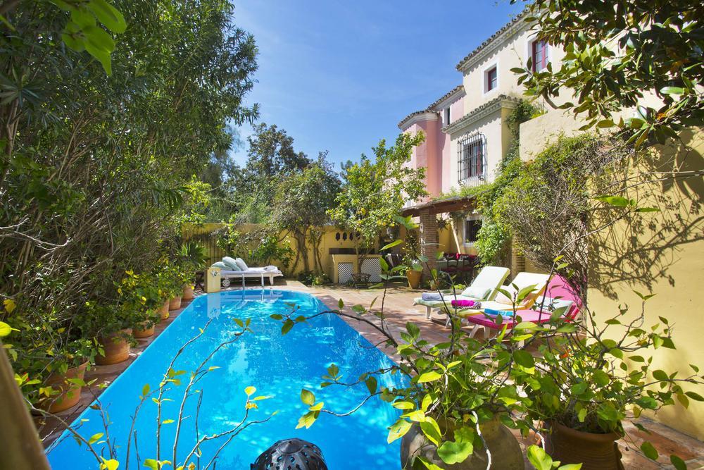 Casa Tarik, Villa in Golden Mile, Marbella, Spain
