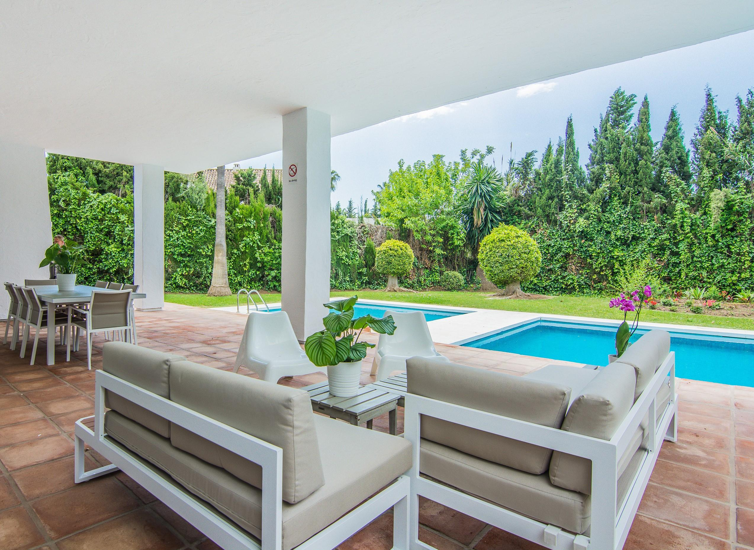 villa marina 4 bedooms, Villa available for Holiday Rental in Puerto Banus, Marbella, Spain