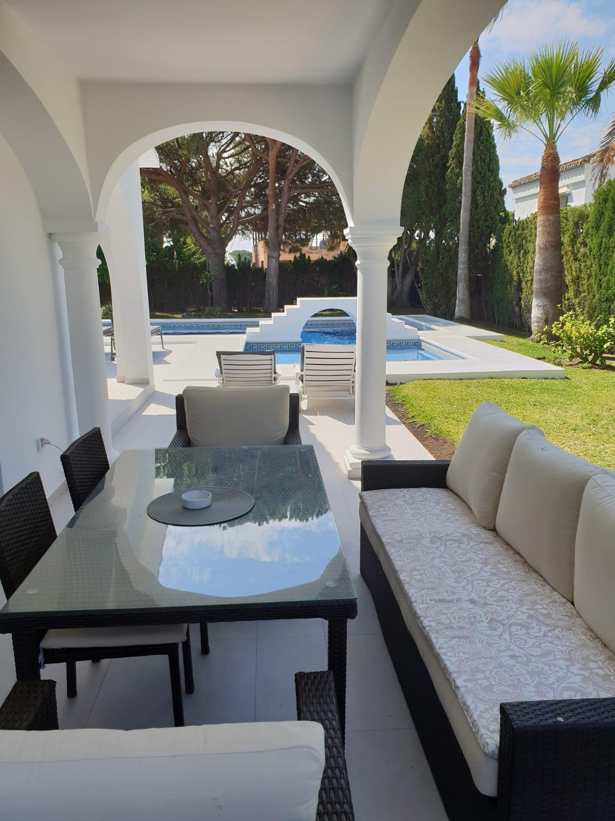 Villa Ljuba, Villa available for Holiday Rental in Las Chapas, Marbella, Spain