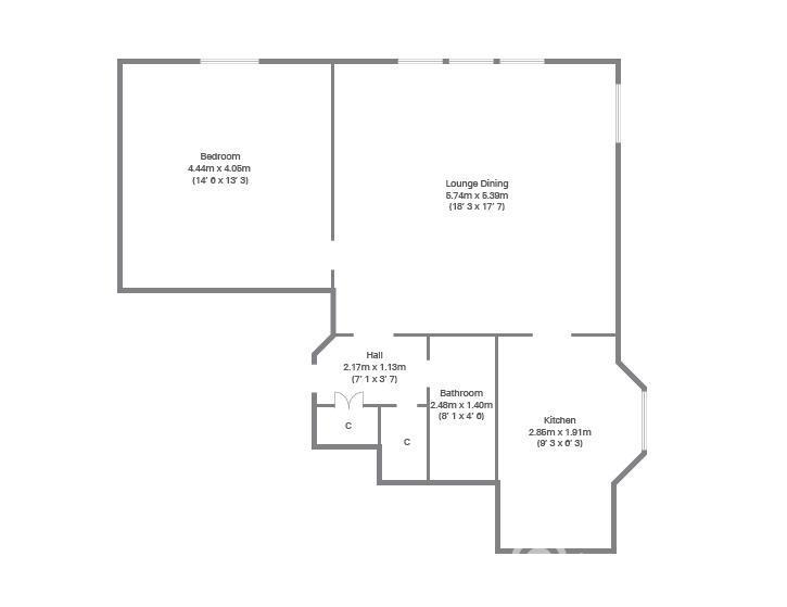 Property to rent in Devonshire Terrace, Flat 4