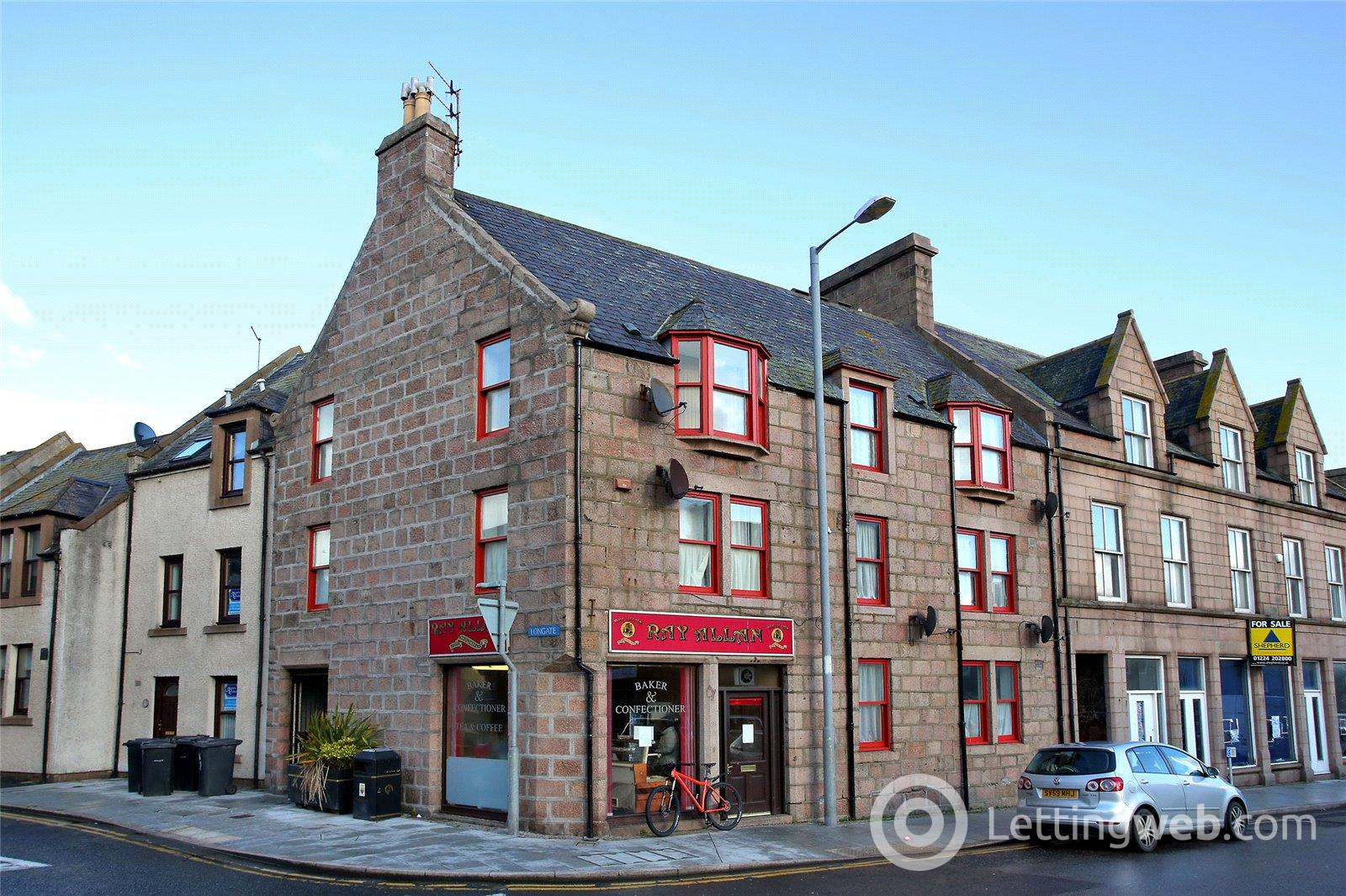Property to rent in 47D Broad Street, Peterhead, Aberdeenshire, AB42