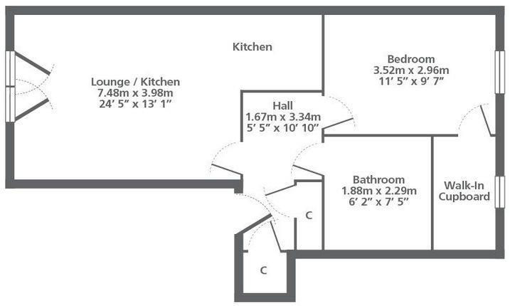 Property to rent in Dalmarnock Drive, Bridgeton, G40 4LQ