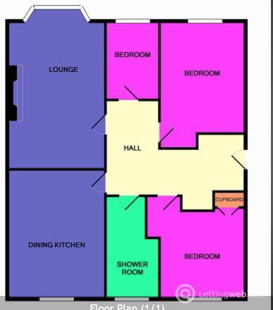 Property to rent in 1st Floor flat, 65 ELMFIELD AVENUE, Aberdeen AB24 3NU