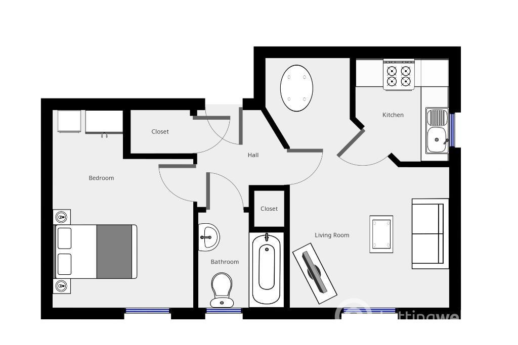 Property to rent in Wardlaw Street, Gorgie, Edinburgh, EH11 1TN