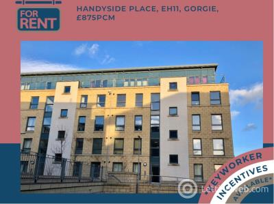 Property to rent in Handyside Place, Gorgie, Edinburgh, EH11 1ZH