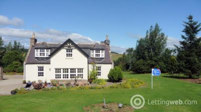 Property to rent in Mid Sinnahard, Glenkindie, Alford, Aberdeenshire, AB33