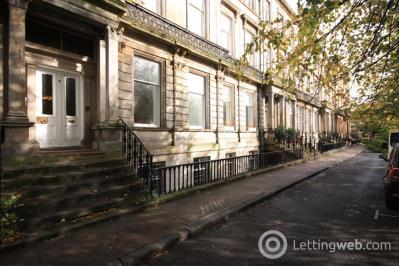 Property to rent in Garden Flat, 8 Ruskin Terrace, Glasgow G12 8DY