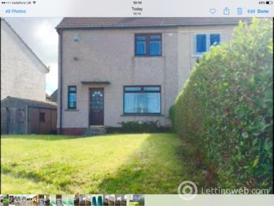 Property to rent in Shortlees Cresent, Kilmarnock, KA1