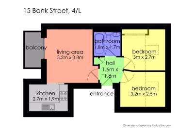 Property to rent in (Top Left) Bank Street, Dundee
