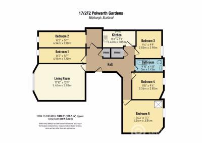Property to rent in Polwarth Gardens-Room Only, Edinburgh