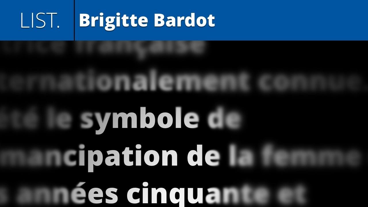 Brigitte Bardot (listening & reading lesson 15)