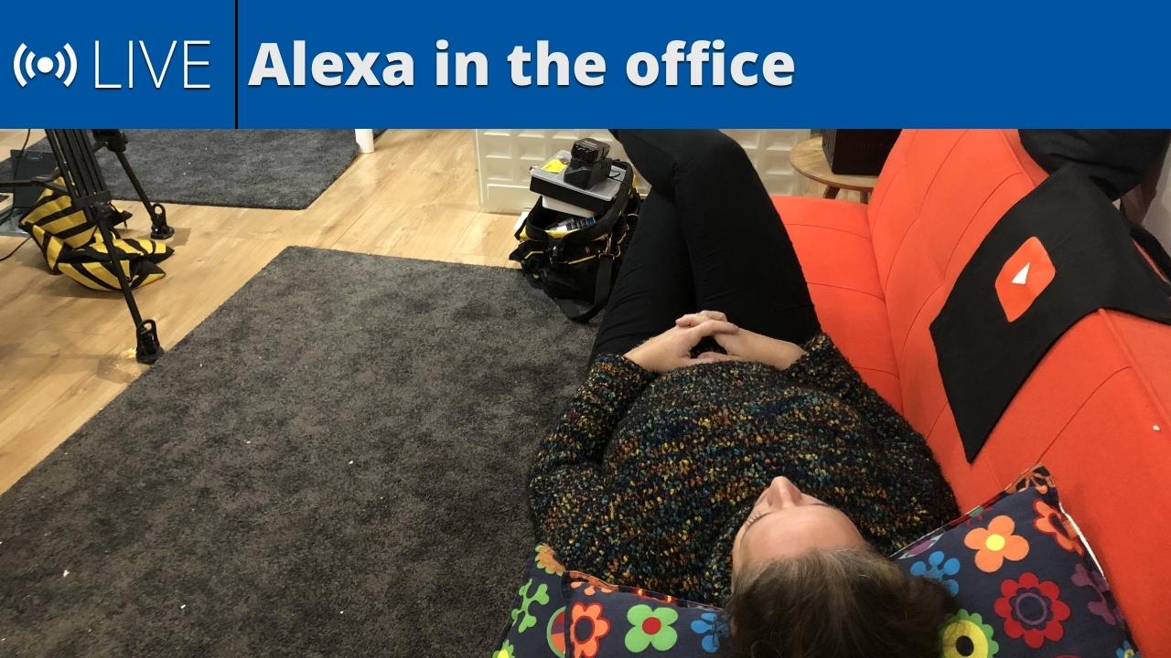 Alexa in the office - Nov 26, 2019