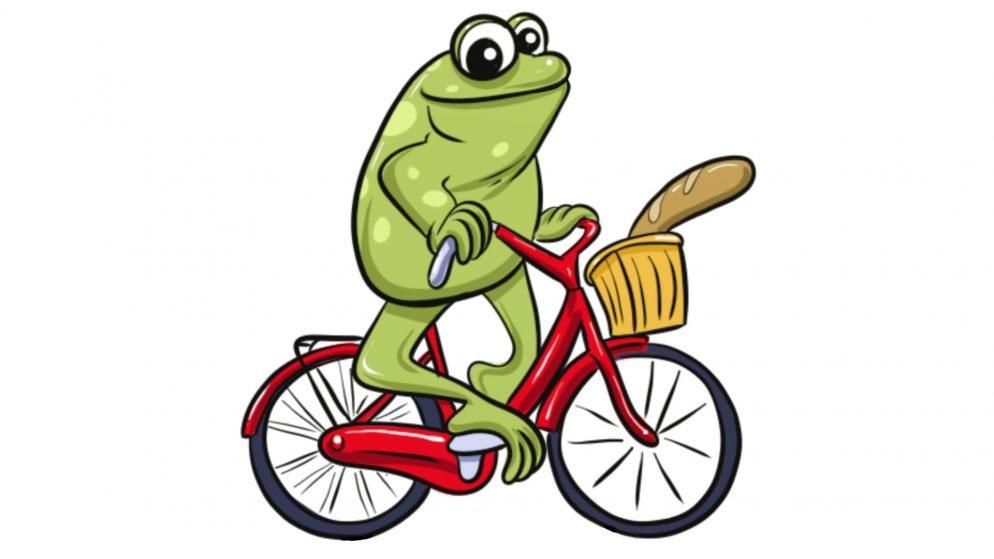 Frogonbike