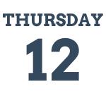 Thursday 12th March