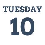 Tuesday 10th