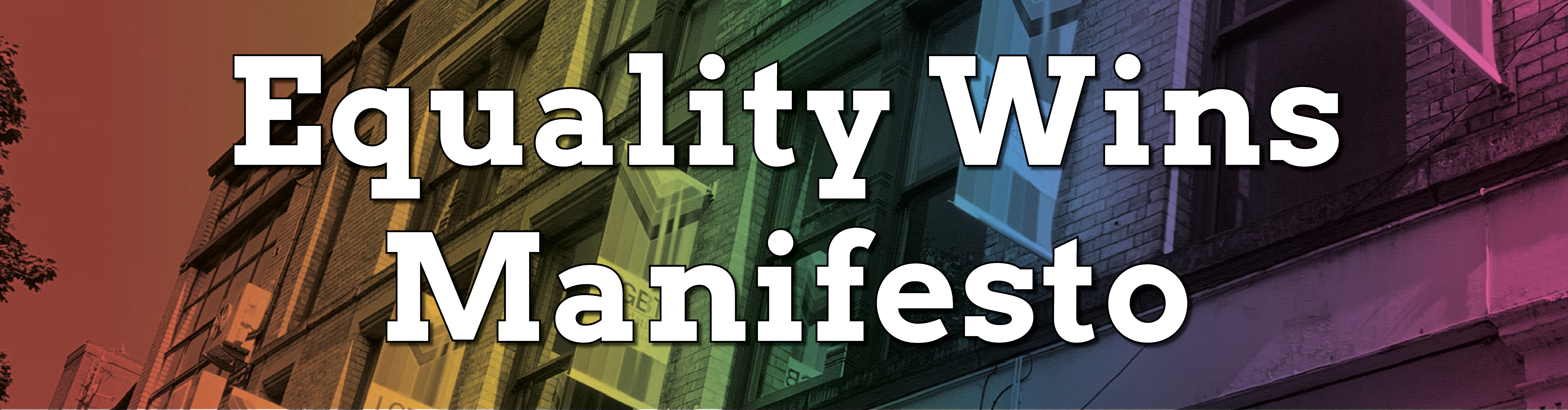 equality wins manifesto