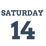 Saturday 14