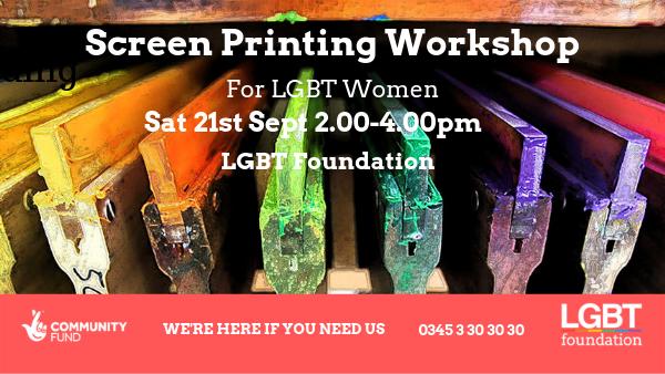 Women's Programme Screen Printing workshop