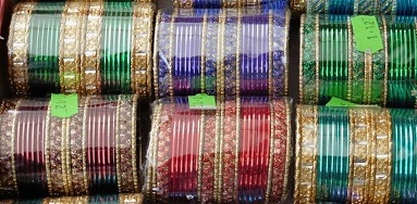 coloured bangles in packets